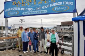 Lincoln Home Assisted Living Newcastle Maine Continuum of Care Independent Senior Living Boothbay Harbor boat cruise