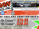 ASE certified auto repair, domestic auto repair, foreign auto repair, alignments, brakes, exhaust, engine repair and replacement, transmission replacement, suspension, exhaust.