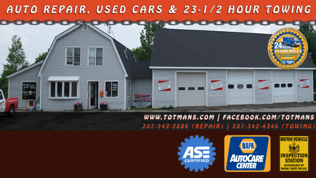 Maine State Inspections, foreign and domestic auto repair, alignments ...