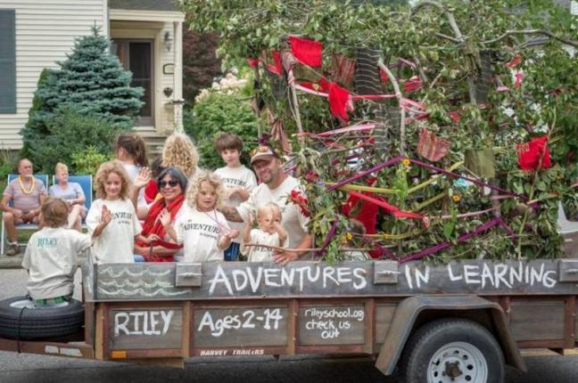 Lobster Festival Float Parade Riley School