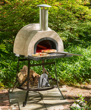 Rustic Wood Fired Pizza Oven