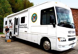 Mobile Veterans' Van at URock