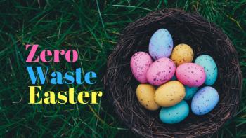 going zero waste, zero waste Easter, tips for holiday waste