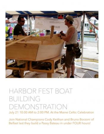 Boat Building Demonstration