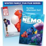 Join us again on Feb. 25th for Finding Nemo!