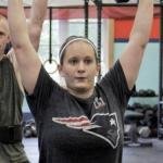 Gab Duke at CJ Strength and Conditioning, LLC in Rockport, Maine
