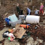 Riley School Beach Clean Up Plaisted Preserve Owls Head Conservation Commission