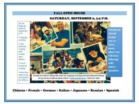 Languages Open House