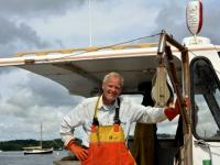 Stott Carleton Lobsterman and Photographer Art at The Lincoln Home Lobster & More August 13