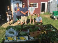 2017 Erickson Fields Teen Ag Crew Harvest Celebration