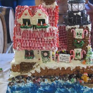 holidays, christmas 2017, gingerbread house